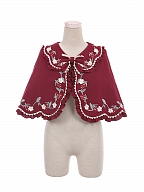 Strawberry Little Red Riding Hood Lolita Matching Cape by To Alice