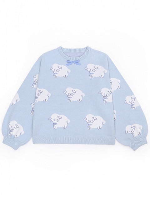 Sheep Sheep Soft Ice Sweater by To Alice