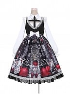 Strawberry Vampire Halloween Gothic Lolita JSK Matching Shirt by To Alice