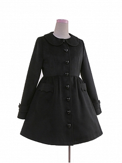 Winter Peter Pan Collar Lolita Coat by To Alice