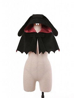 Halloween Gothic Lolita Cape Short Version by To Alice