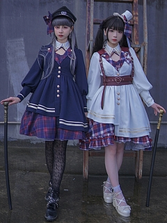 Nautical Nocturne Lolita Coat by To Alice