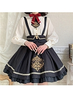 Sweetheart Bunny Series Lolita Strap Dress by To Alice