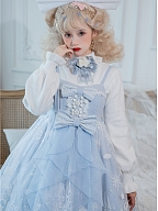 Snow Moon Castle Series Sweater / Hairclip by To Alice