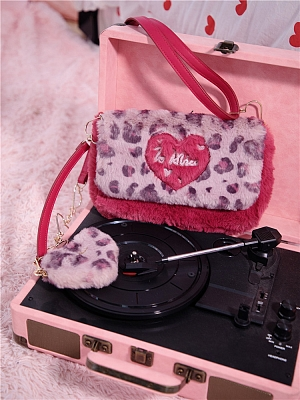 Sweet Little Leopard Y2K Hot Girl Harajuku Style Cross Bag by To Alice
