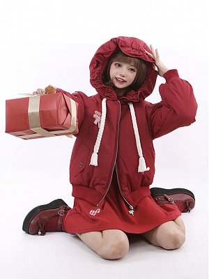 Baby Bear's Gift Box Padded Hooded Jacket by To Alice