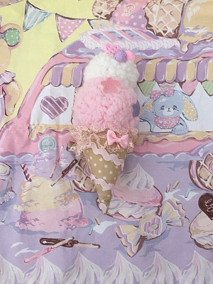 Dessert Cart in Amusement Park Series Matching Ice Cream Brooch / KC by The Dolls Daydream