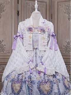 Auke Lace Haori Lolita by The Sands of Time Lolita