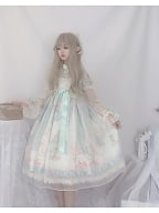First Love to Be Continued Floral Series Lolita Dress OP by This Time
