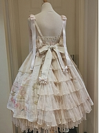 First Love to Be Continued Floral Series Lolita Dress JSK by This Time