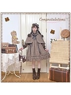 Little Detective JSK and Cape Set by Honey Machine