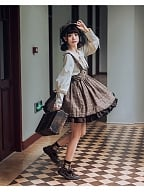 Little Detective Punk Lolita Strap Dress by TXFSJ