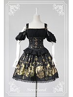 Open Shoulder Corset Lolita Dress / OP - The Mermaids Sing by Souffle Song