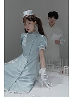 Ange de l'enfer Nurse Style Lolita Dress OP by Unicorn Tears