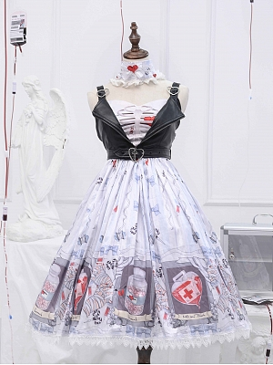 No.404 Palpitate Halloween Gothic Lolita Dress JSK by Unnamed Sale