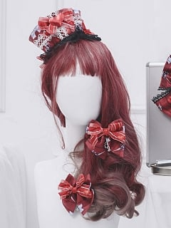 No.404 Palpitate Lolita Dress JSK Matching Hairclips by Unnamed Sale