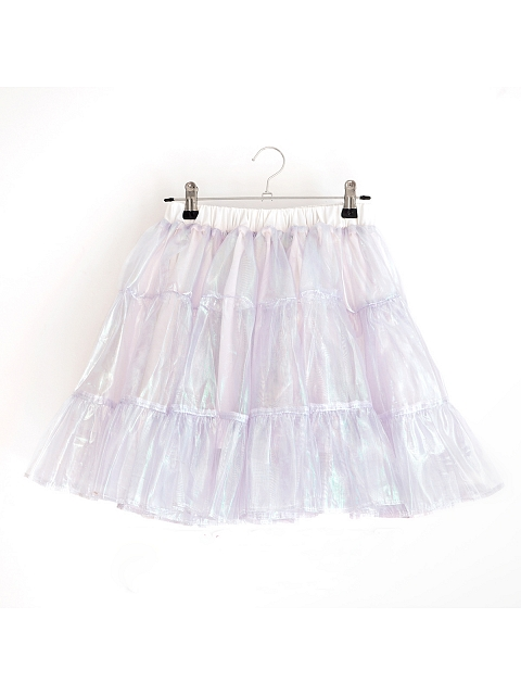 Vcastle*Riceball Cookie Reflective Skirt by Vcastle