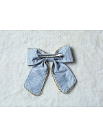 Emma Lace Trimmed Bowknot Hairclip