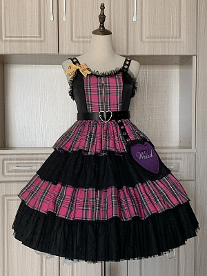 Punk Team Punk Lolita Palid JSK by WeirdEikasia