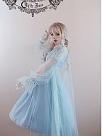 Cinderella Star Lace Cape by White Moon
