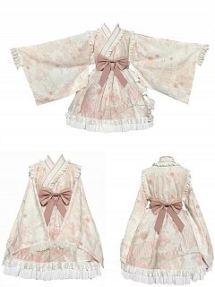 Sakura Wa Lolita Dress by With PUJI