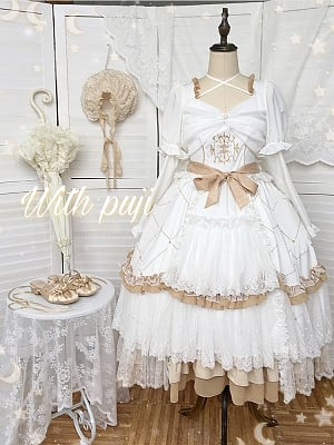 Oath Detachable Sleeves Hanayome Lolita Dress OP by With PUJI