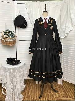 Evening Tide JK Uniform Dress OP by With PUJI