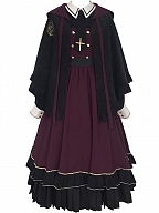 Apprentice Magician Lolita Dress OP / Cape by With PUJI