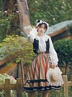 Warsaw Weekend Country Lolita Skirt Set by With PUJI