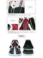 Christmas Wish Bell Lolita Dress OP / Cape by With PUJI