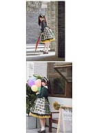 Paradise Adventure Jocker Inspired Lolita Dress OP by With PUJI