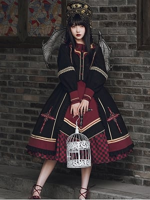 Holy Light Elegant Lolita Dress OP by With PUJI