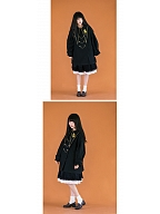 Fantasia Lolita Pointed Collar Padded Coat by With PUJI