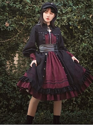 Dream Eater Cutout Front Lolita Dress OP by With PUJI