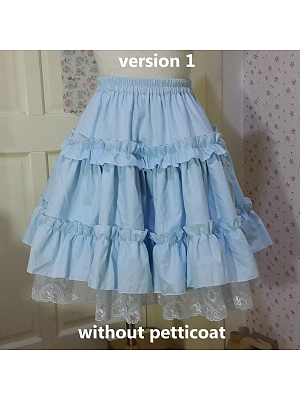Cotton Thick Version Petticoat by WY
