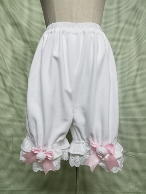 Rabbit Bowknot Velvet Bloomer by WY