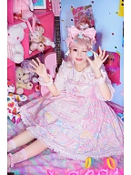 Rainbow Doll House Lolita Dress Matching KC by C C Cat