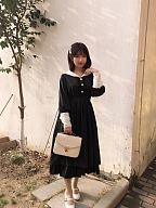 Lora Diary Classic Lolita Long Sleeves OP by Laurel