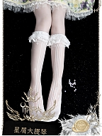Cellointhe Stars Stockings by Yidhra