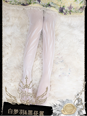 Feather of Angel Summer Pantyhose by Yidhra
