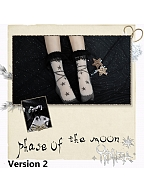 Phase of the Moon Stockings by Yidhra
