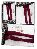 Alice's Supper Tights by Yidhra