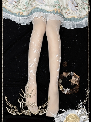 The Distant Monsoon Summer Tights by Yidhra
