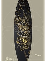 Witchcraft Gold Stamping Pantyhose by Yidhra