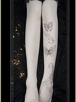 Dreamland of Butterfly Pantyhose by Yidhra