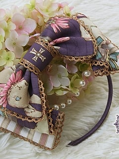 Pre-order Bunny's Herbology Bowknot KC by Yolanda