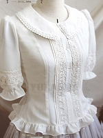 Minor Morning Delicate Classic Blouse by Yolanda