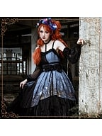 Decaying Forest Lolita Dress JSK by YINGLUOFU