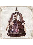Alchemist Lolita Dress JSK by YINGLUOFU