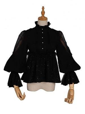 God Redemption Gothic Lolita Matching Shirt by YINGLUOFU